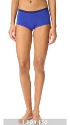 Calvin Klein Underwear Pure Seamless Boyshorts Amplified Blue