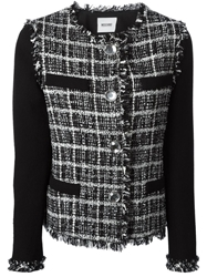 Moschino Cheap And Chic Boucle Jacket Black