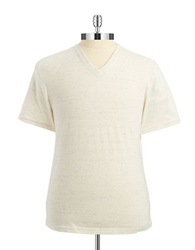 Vince Camuto Marled T Shirt White