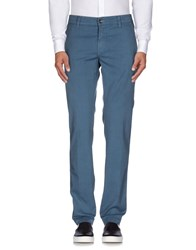 Heaven Two Trousers Casual Trousers Men Slate Blue