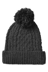 Polo Ralph Lauren Hat With Wool And Alpaca Black