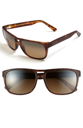 Maui Jim 'Waterways Polarizedplus 2' 58Mm Sunglasses Matte Tortoise