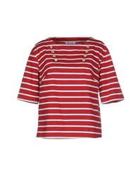 Dondup Topwear T Shirts Women Red