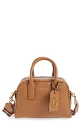Marc Jacobs 'Small Gotham' Bauletto Satchel Brown Maple Tan
