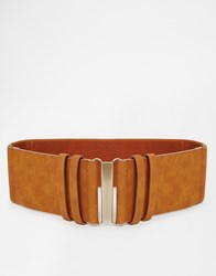 New Look Utility Waist Belt Tan