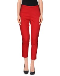 X's Milano Trousers Casual Trousers Women Red