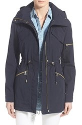 Women's Vince Camuto Drawstring Drop Tail Jacket Midnight