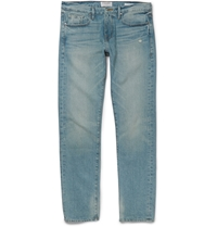 Frame Denim Rincon Slim Fit Washed Denim Jeans Blue