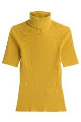 3.1 Phillip Lim Wool Blend Turtleneck Pullover Yellow