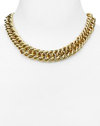 Ralph Lauren Curb Link Chain Necklace 18 Gold