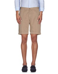 Hydrogen Trousers Bermuda Shorts Men Beige