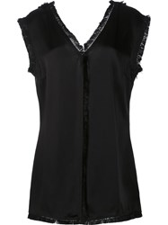 Stella Mccartney 'Stefanelli' Sleeveless Blouse Black