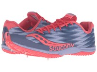 Saucony Kilkenny Xc Spike Lavender Red Women's Shoes Blue