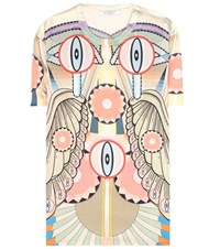 Givenchy Printed Silk T Shirt Multicoloured