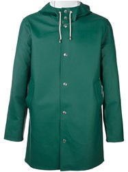 Stutterheim Hooded Short Coat Green