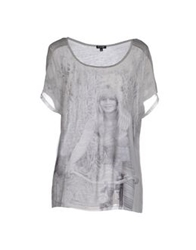 Brigitte Bardot T Shirts Light Grey