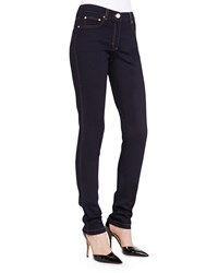 Escada Skinny Ankle Jeans Dark Blue