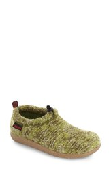 Giesswein Women's 'Vent Lodge' Slipper Green Wool