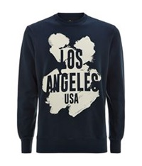 7 For All Mankind La Sweater Navy