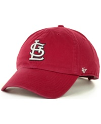 '47 Brand St. Louis Cardinals Clean Up Hat Red