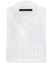 Sean John Big And Tall Solid Dress Shirt White