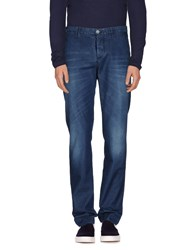Jeckerson Denim Denim Trousers Men Blue
