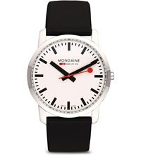 Mondaine A6383035011sbb Simply Elegant Stainless Steel Watch White