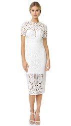 Lover Harmony Sheath Dress White