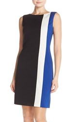 Women's Ellen Tracy Colorblock Ponte Sheath Dress