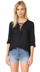 Bb Dakota Jack By Eddingham Blouse Black