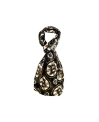 Forever Collectibles Boston Bruins All Over Logo Infinity Scarf Black