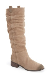 Bp 'Traffic' Slouch Boot Women Taupe Suede