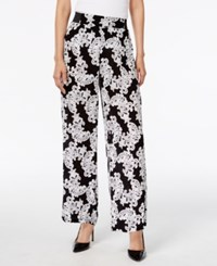 Inc International Concepts Printed Wide Leg Pants Only At Macy's Lace Flowershop