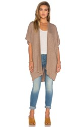 Riller And Fount Emilio Cocoon Cardigan Brown