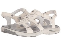 Merrell Adhera Three Strap Ii White Women's Sandals