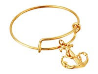 Alex And Ani Wire Ring Anchor Gold Ring