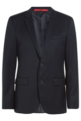 Hugo Wool Blazer Blue