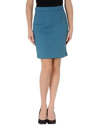 Jonathan Saunders Skirts Knee Length Skirts Women Pastel Blue