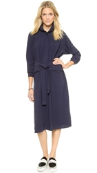 Rodebjer Odessa Shirtdress Midnight Blue