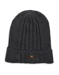 Ugg Ribbed Knit Hat Charcoal