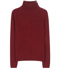 Loro Piana Dolcevita Boylston Cashmere Sweater Red