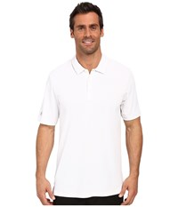 Adidas Climachill Solid Club Polo White Men's Short Sleeve Pullover