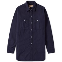 Nigel Cabourn X Lybro Big Shirt Blue