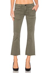 Sanctuary Peace Crop Pant Fatigue