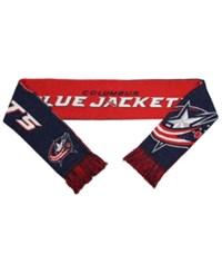 Forever Collectibles Columbus Blue Jackets Reversible Split Logo Scarf