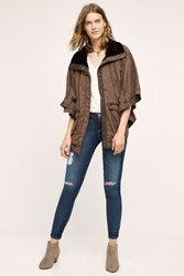 Anthropologie Todra Cape Taupe