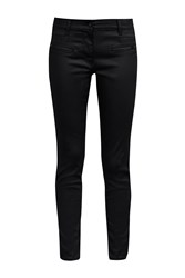 Great Plains Slick Rick Coated Denim Skinny Jeans Black