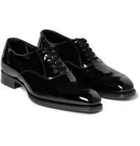 Kingsman George Cleverley Patent Leather Oxford Shoes