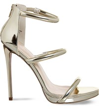 Office Nectar Strappy Sandals Champagne Gold