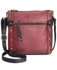 Styleandco. Style Co. Tate Small Crossbody Only At Macy's Pearl Maroon